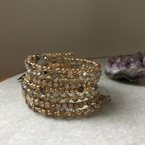 INC spiral bracelet